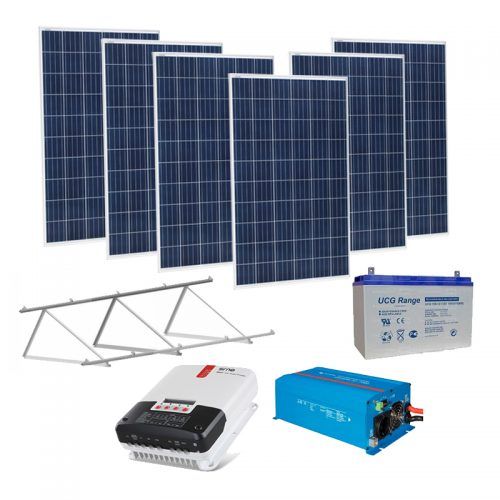 Kit Panel Solar 1800 Wh