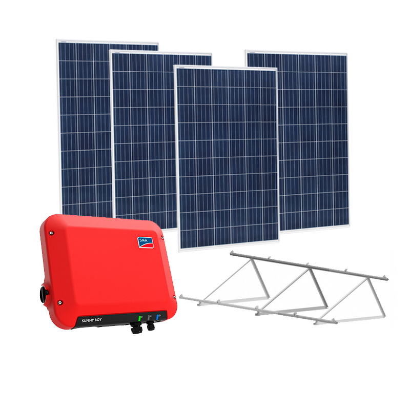 Kit Solar On grid 1500W