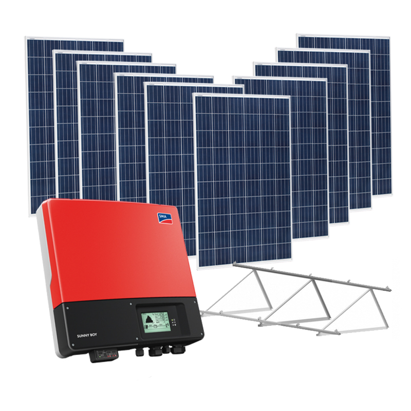 Kit Solar On Grid 3000W