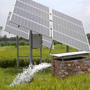 Bombeo solar con panel fotovoltaico