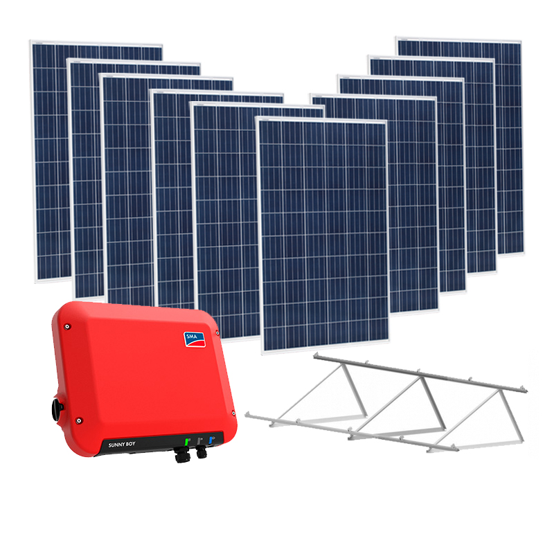 kit solar on grid 2500W