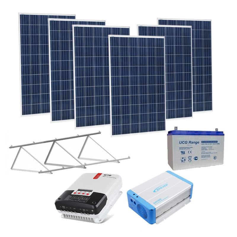 Kit Panel Solar 3200 Wh dia