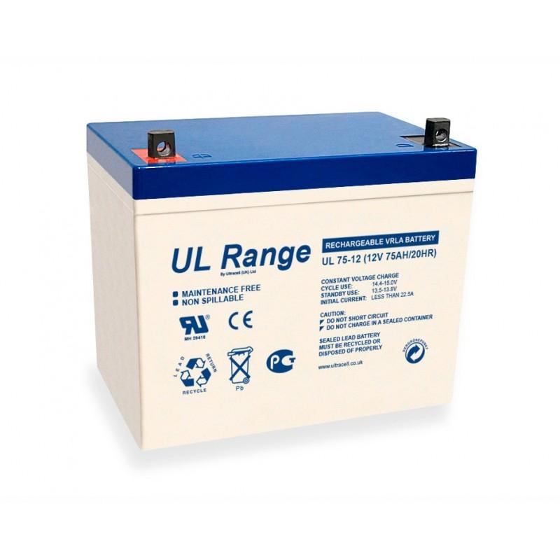 Batería Ultracell AGM 75 Ah