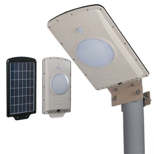 Luminaria solar integrada led 6w