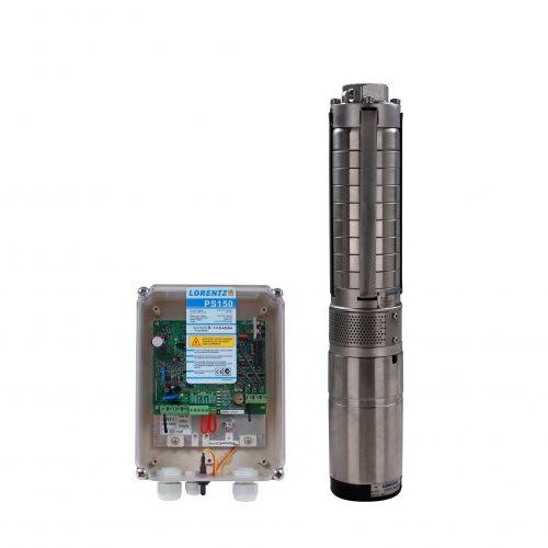 Bomba Solar Lorentz con controlador PS-150